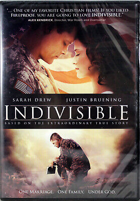 Indivisible NEW DVD Based on True Story Alex Kendrick One Marriage Under God