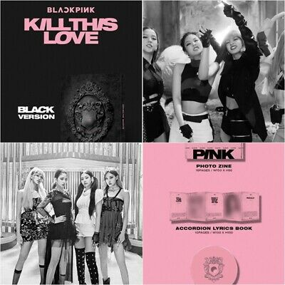 BLACK PINK: KILL THIS LOVE* CD+Photo Book+Photo Card+Poster (YG) Album K-POP
