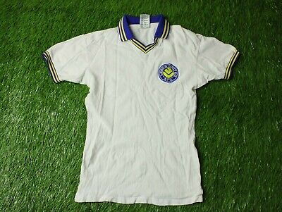 Leeds United 1980/1981 Football Shirt Jersey Home Score Draw Replica Size S