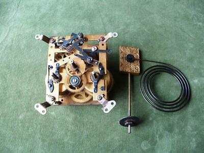 Vintage  Clock  Movement  Wurtenburg / H.A.C. with gong.