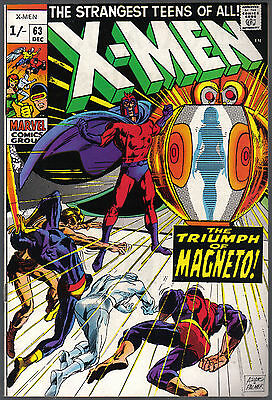The X-Men Issue Number 63 Produced By Marvel Comics