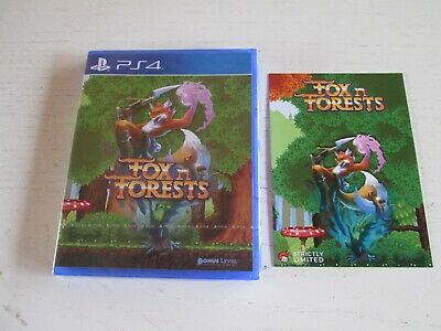 FOX N FORESTS (Sony PlayStation 4). Brand New. Mint. Strictly Limited Games. PS4