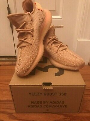 89b7e5c2a35 Adidas Yeezy Boost 350 v2 Clay Size 8 NEW IN BOX WITH RECEIPT Ready to Ship