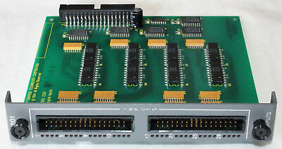 Control Technology 2201 32 Channel Input Module Board
