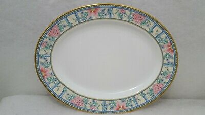 "Rare Royal Grafton Bone China SUMATRA 13-1/4"" Serving Platter Made in England"