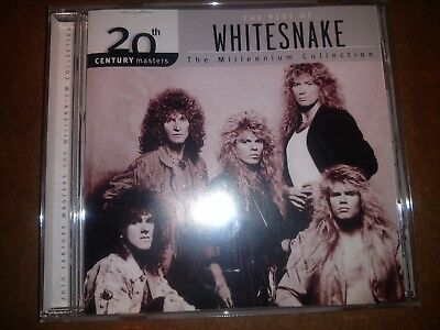 Whitesnake 'The Best Of - The Millennium Collection' CD Very Good Condition