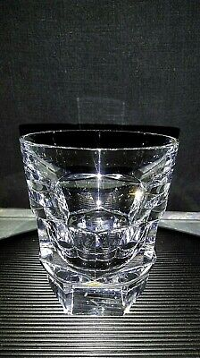 Rare Baccarat Harcourt Abysse Gobelet Verre A Whisky Neuf