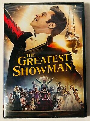 The Greatest Showman (DVD) BRAND NEW FACTORY SEALED