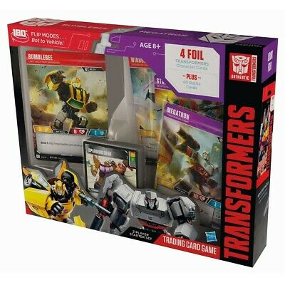 Transformers TCG: Rise of the Combiners Bumblebee Vs. Megatron Pre Order 5/3