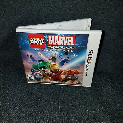 COMPLETE Nintendo 3DS Lego Marvel Super Heroes Universe In Peril GUARANTEED!