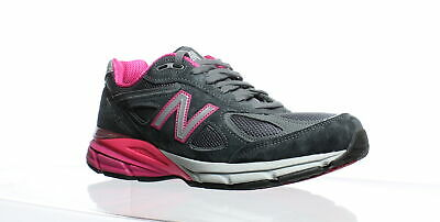 half off 478d3 12f26 NEW BALANCE WOMENS W990gp4 Grey/Pink Running Shoes Size 8 ...