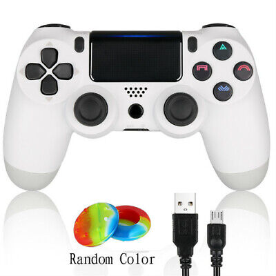 2 PCS White New Playstation 4 PS4 Wireless Remote Handle Controller Dualshock 4