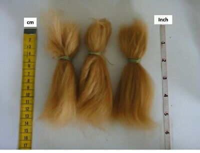 MOHAIR for rooting- REBORN Doll making supplies 20g  (0.7 oz) strawberry blond