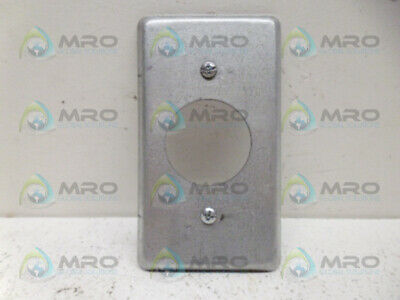 Steel City 58C5 Single Receptacle Cover *New No Box*