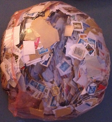 1Kg Kiloware, Charity Collected, As Received, Unsorted, With Unfranked