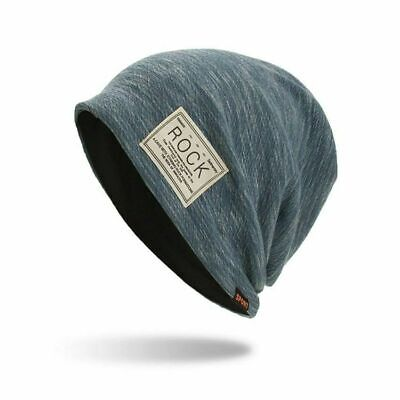 Winter Autumn Beanies Hat Unisex ROCK Label Warm Soft Knitting Cap Hats