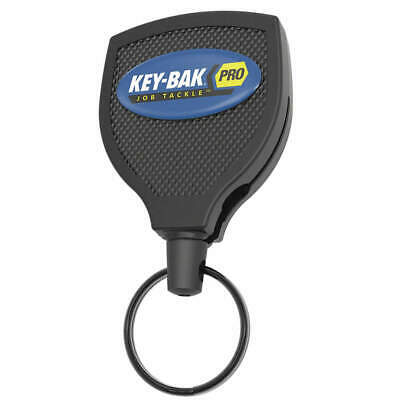 "TOOLMATE Locking Retractable Key Reel,36"" L,Black, 0KP2-3A112, Black"