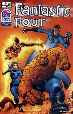 Fantastic Four Taco Bell Exclusive Edition #1 2009 FN 6.0 Stock Image