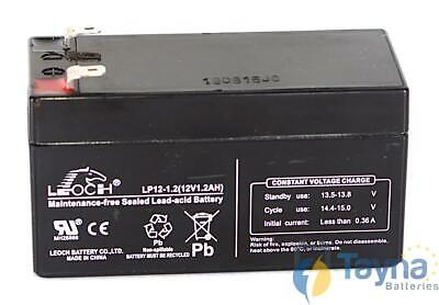 Leoch LP12-1.2 12V 1.2Ah Sealed Batterij