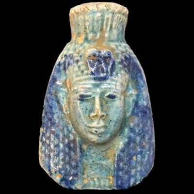Beautiful Ancient Egyptian Bust 300 Bc (1) Large !!!!