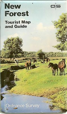 Ordnance Survey Tourist Map & Guide -  NEW FOREST - 1982