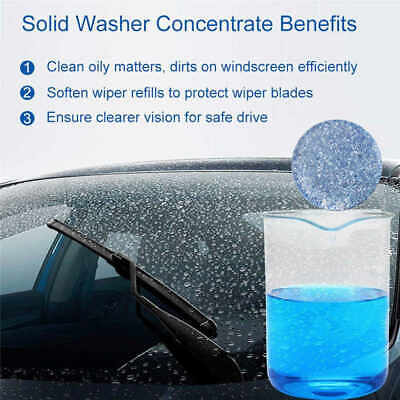Windscreen Wash Tablet Windshield Washer Super Concentrated Screen Wash Fluid