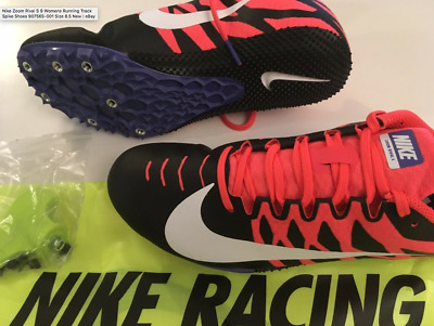 quality design 119d4 20e61 Nike Zoom Rival S Womens Running Track Spike Shoes 907565-001 Size 8.5 New