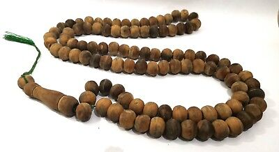 Islamic wooden rosary is very large,home decoration pendants < beads No 100