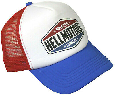 Trucker Cap Hellmotors 69 Hot Rod US Car Rockabilly Oldschool V8 Biker Kappe