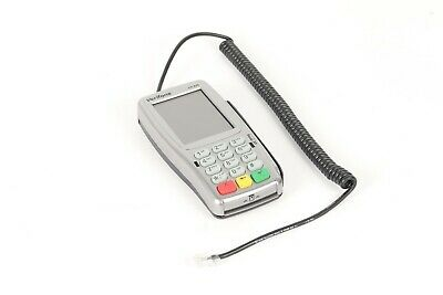 VeriFone VX820 CTLS Credit Card Pin Pad with Chip Reader w/ RS232 to RJ45 Cable