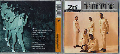 20th Century Masters - The Best of the Temptations CD Nice! Free Ship #LK73