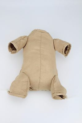 """For 22"""" Reborn Baby Doll Doe Suede Bodies Kits Newborn Doll Kits With 3/4 Limbs"""