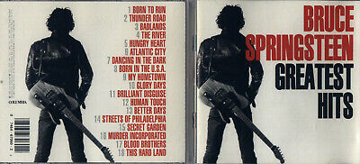 Bruce Springsteen - Greatest Hits (CD, Feb-1995, Columbia) Free Ship #0319IS