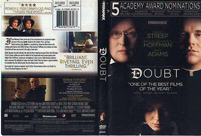 Doubt (DVD, 2009) Widescreen Free Ship #0809DAK