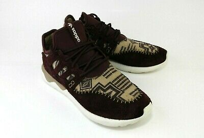 reputable site a3689 41a2b Adidas Tubular Moc Runner Purple Night Red  White (B24692) Men s SZ 8.5