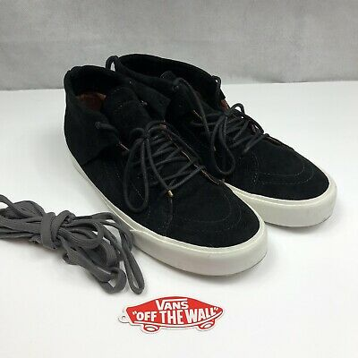 2b1a8a8baa VANS SK8 MID Moc Ca Vn000311Hvy Pig Suede Tortoise Shell Ds Size  10 ...