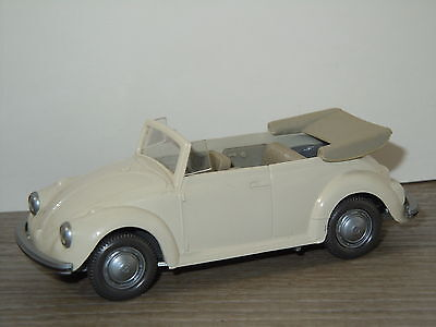 VW Volkswagen Beetle Kafer Kever Convertible van Wiking Germany 1:40 *9738