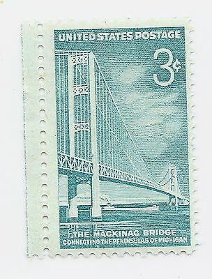 U S Stamp  Mackinac Bridge 3 Cent Stamp MNH stamp