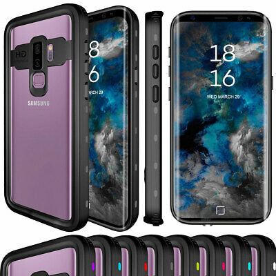 Waterproof Phone Case with Screen Protector For Samsung Galaxy S9 / S9+ Plus
