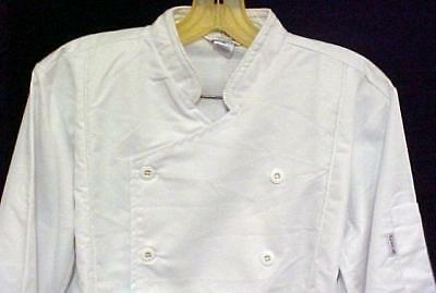 White Chef Jacket XL Coat CIA Culinary Institute America New Style 9601