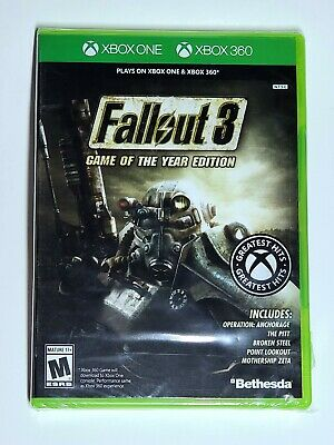Fallout 3 - Game of the Year Edition [Xbox One & 360] Greatest Hits Version