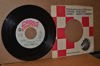 Minnie Ripperton & Rotary Connection: Love Me Now; Cadet Concept Mint- Promo 45