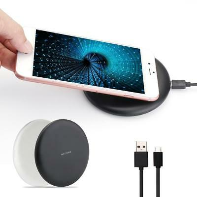 Portable Qi Wireless Fast Charger Charging Pad Wireless Charger for iPhone PK