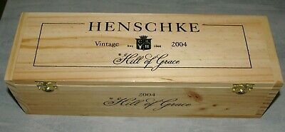 Henschke Hill of Grace Vintage 2004 Wooden Presentation Box