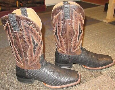 e10bbd1eae5 Mens ARIAT Relentless Top Notch Western Leather Cowboy Boots 13 D ~  Excellent