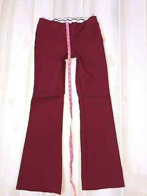 Womens The Limited Drew Fit Red Dress Pants Size 2