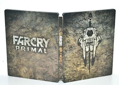 FAR CRY PRIMAL STEELBOOK (ohne Spiel) BluRay Format - TOP ZUSTAND - RAR !