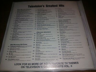 'Television's Greatest Hits' Various CD w/ Booklet & Slim Case