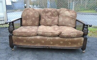 Art Deco Sofa / Settee For Reupholstery    Delivery Available
