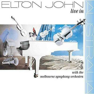 Elton John - Live In Australia 1987 West German Cd